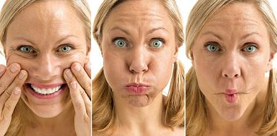 Facial excercise clinical study