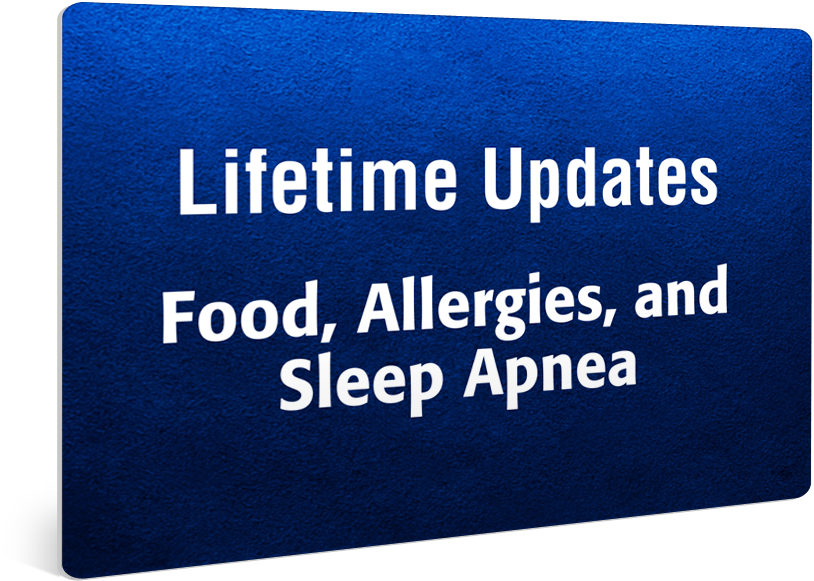 Food Allergies And Sleep Apnea Special Offer Apnea