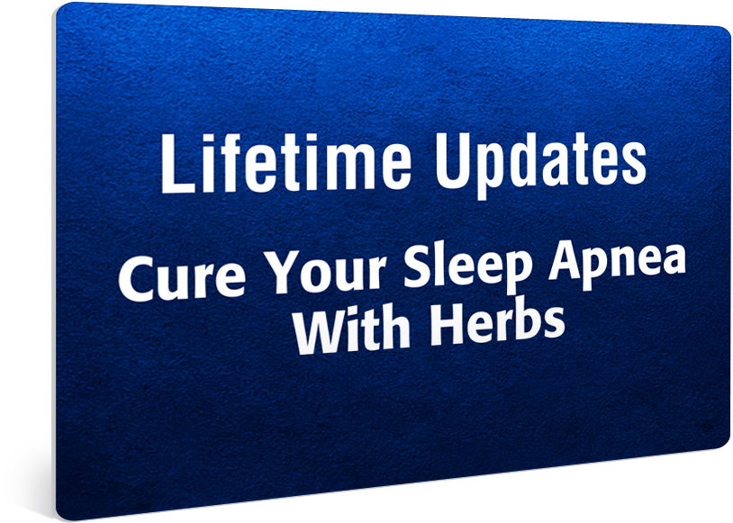 Lifetime Updates Cure Your Sleep Apnea with herbs