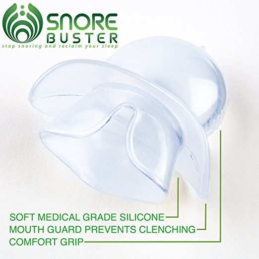 The Snore Buster Mouth Anti Snore Sleep Aid Device