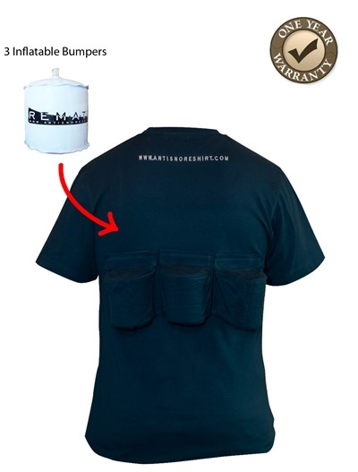 Positional sleep apnea shirts