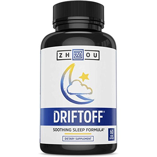 DRIFTOFF Natural Sleep Aid with Valerian Root & Melatonin