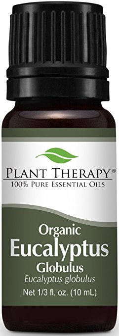 Plant Therapy USDA Certified Organic Eucalyptus Essential Oil