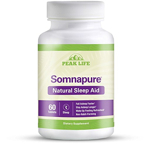 Somnapure Natural Sleep Aid with Melatonin