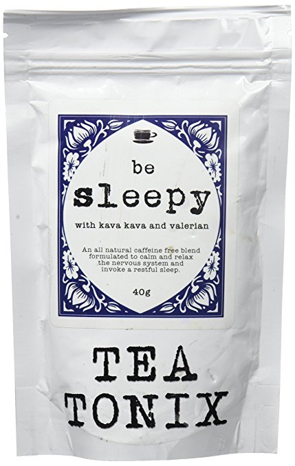 BE SLEEPY Relaxing Bedtime Tea with Valerian