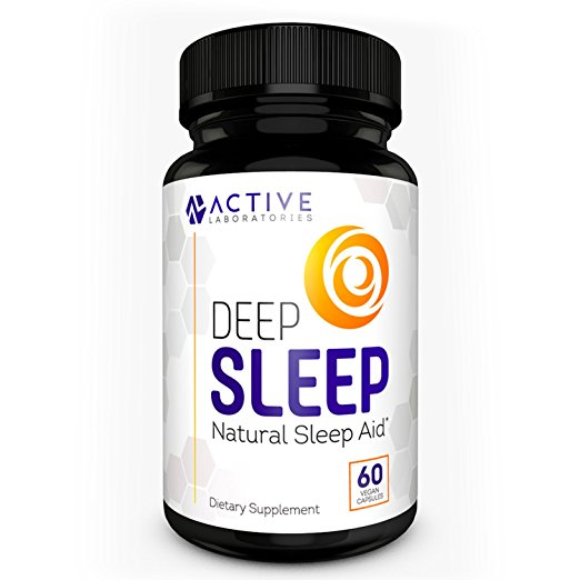 DEEP SLEEP All-Natural Sleep Aid - Melatonin & Valerian Root
