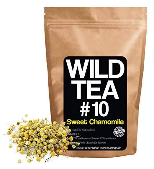 Herbal Chamomile Tea by Wild Foods