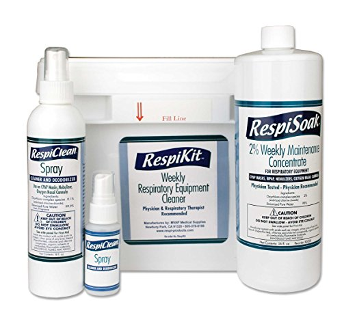 RespiKit - Respiratory & CPAP Equipment Cleaning Kit by MVAP