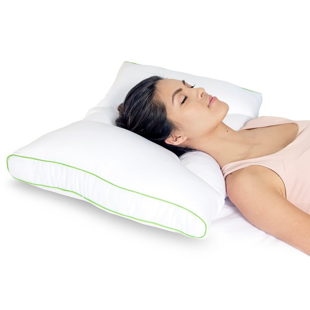 Sleep Yoga Dual Position Neck Pillow