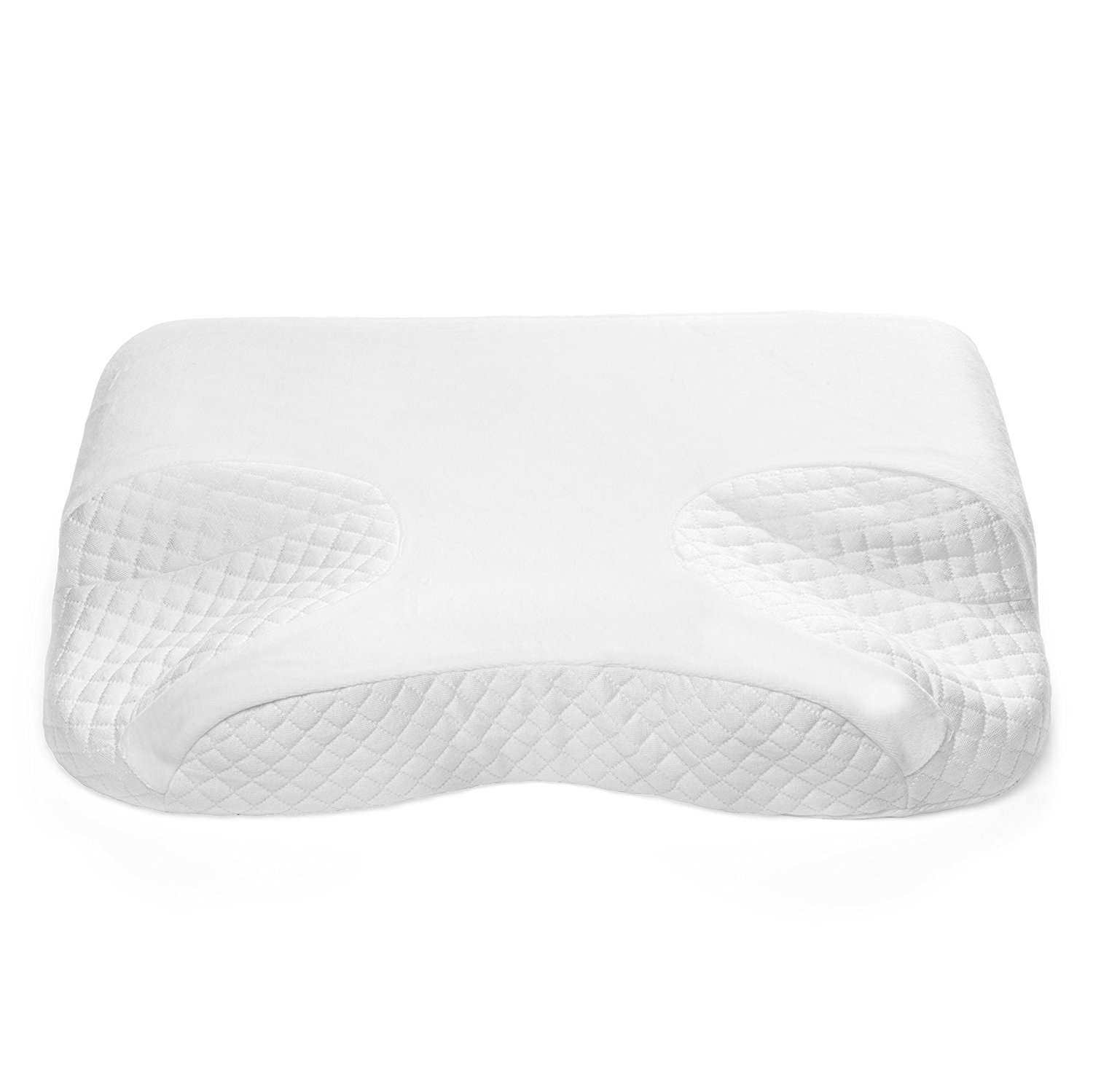 CPAP Memory Foam Pillow By GoodSleep - For BiPAP, APAP & CPAP Mask Users - Nasal Cushion For Side, Back & Stomach Sleepers With Apnea