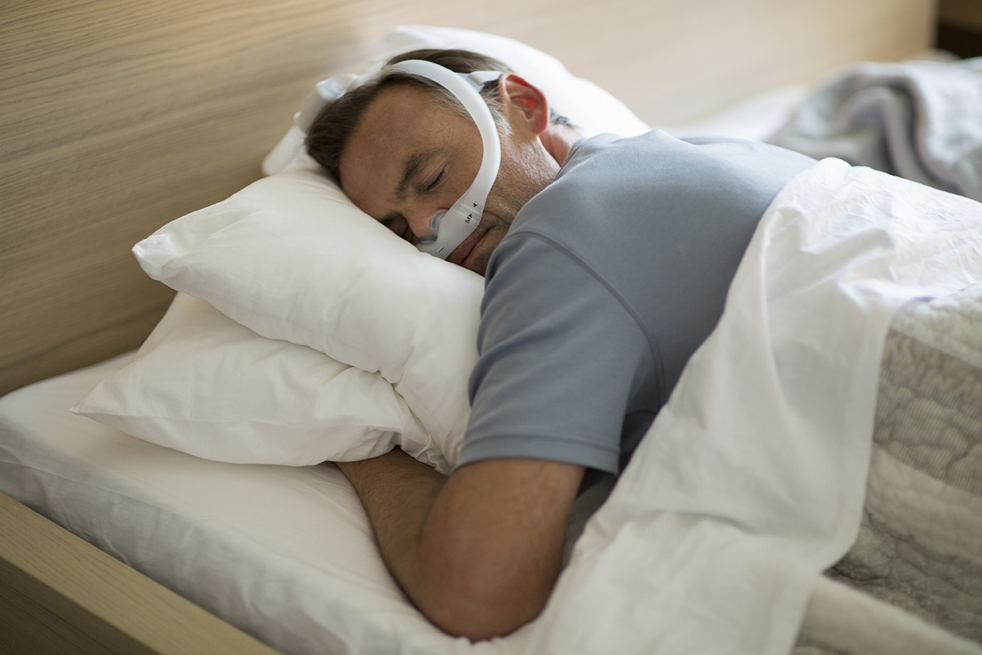 cpap stomach sleep pillow review