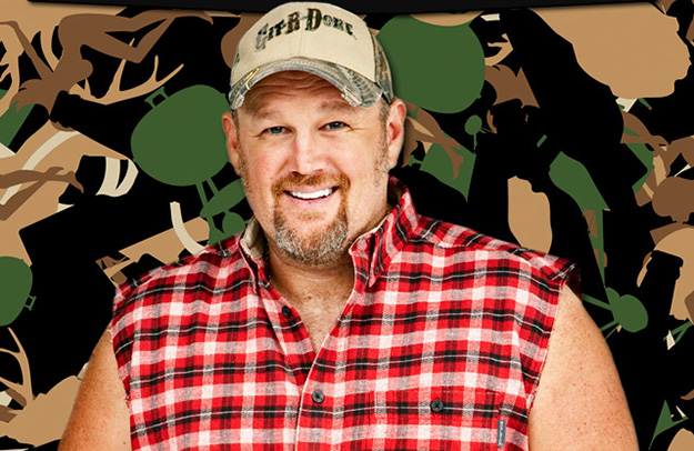 8. Daniel Lawrence Whitney - Larry the Cable Guy
