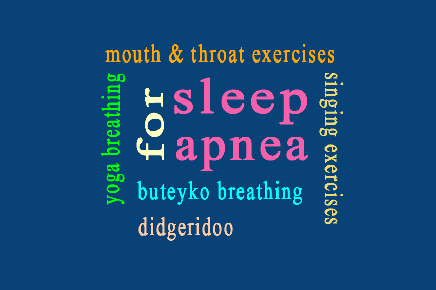 breathing exercise for sleep apnea