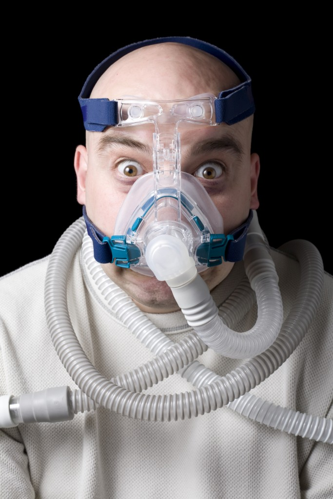 how to avoid a runny nose using a bipap machine