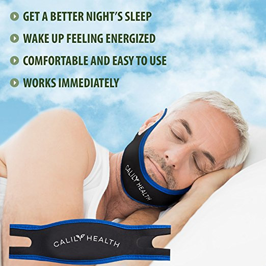 Calily Health Fully Adjustable Anti Snoring Chin Strap