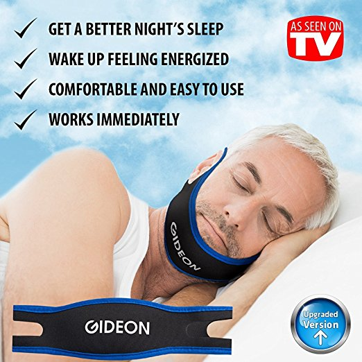 Gideon Adjustable Anti-Snoring Chin Strap