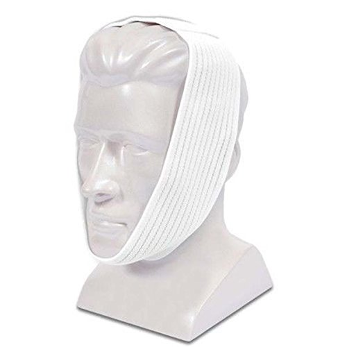 Premium White Chin Strap with Extra Support by AG Industries