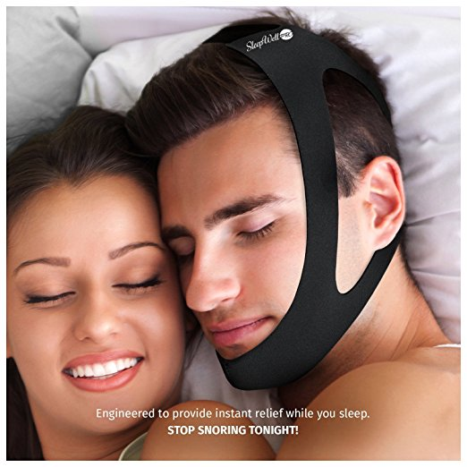 SleepWell Pro Adjustable Stop Snoring Chin Strap Reviewed
