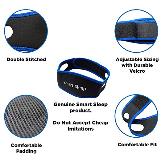 Smart Sleep Adjustable Anti Snore Chin Strap