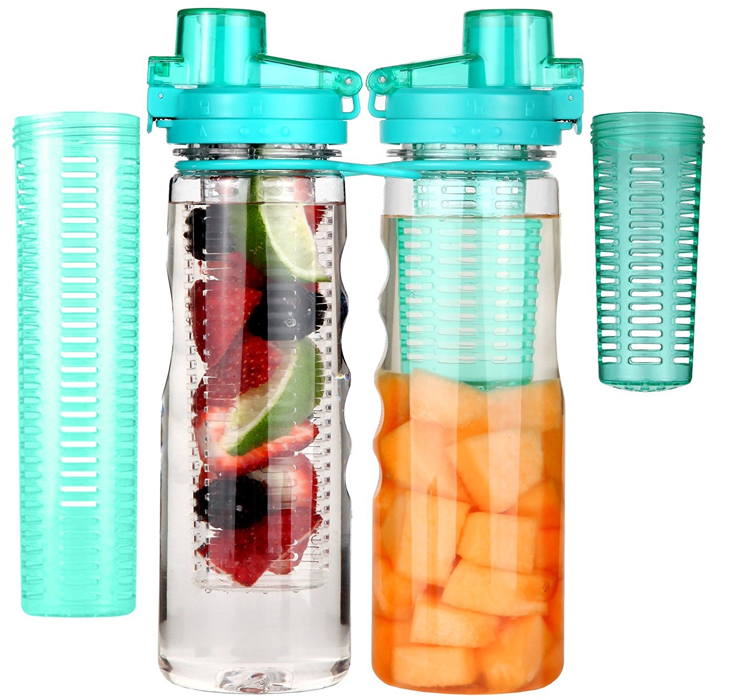 Infuser Water Bottle Sport Flip-top