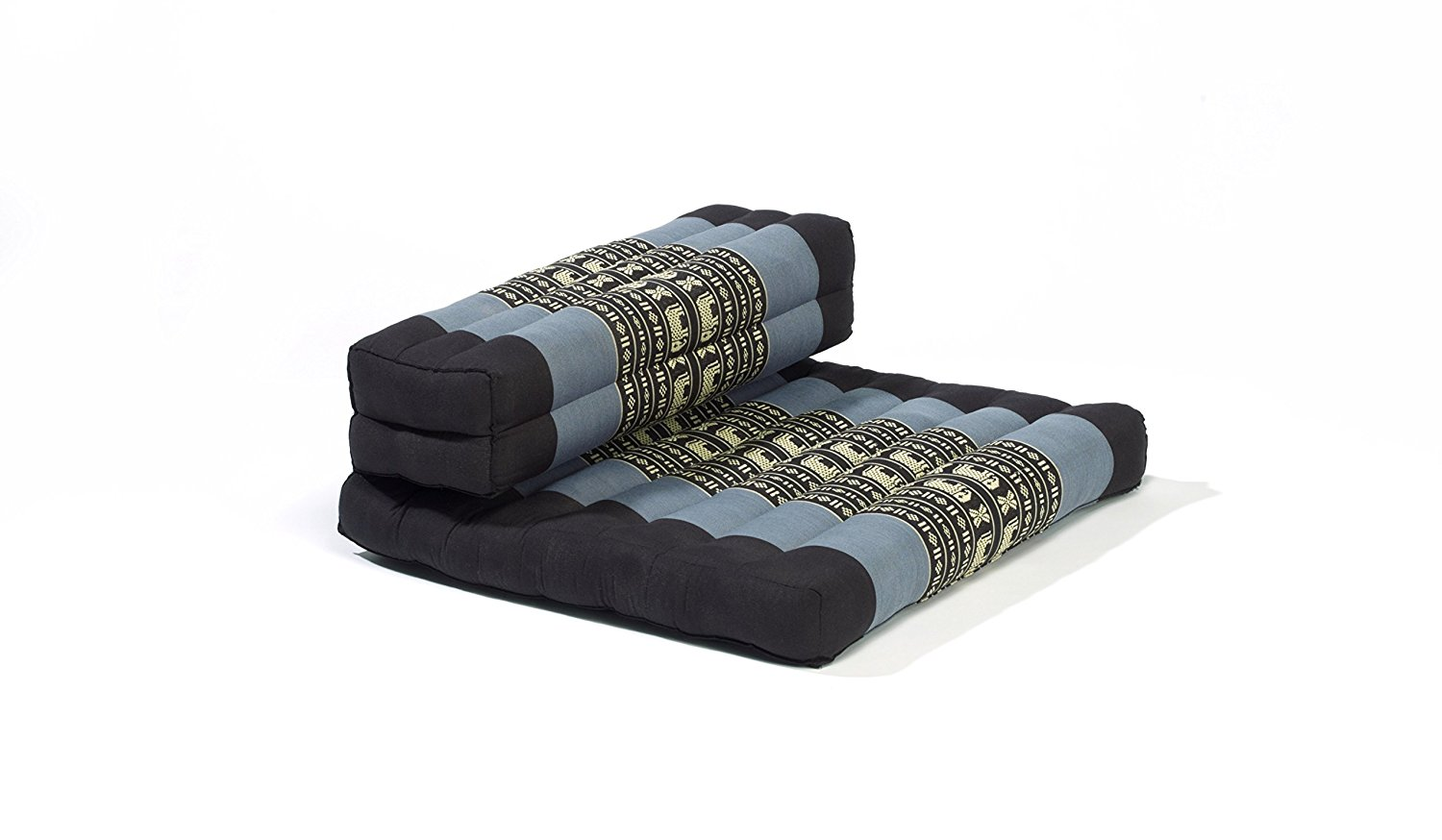 My Zen Home Dhyana Meditation Cushion Blue-Black