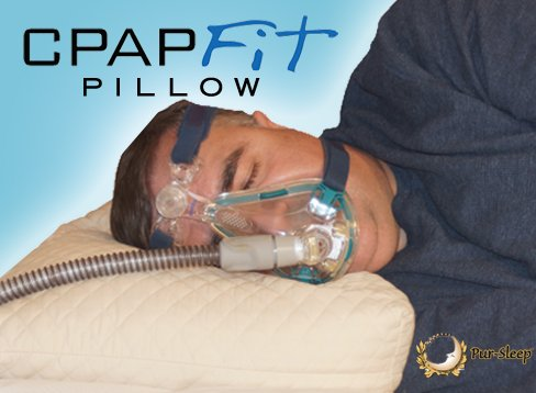 CPAPfit CPAP Pillow--Cool, Dry, Adjustable--Bamboo Viscose Cover