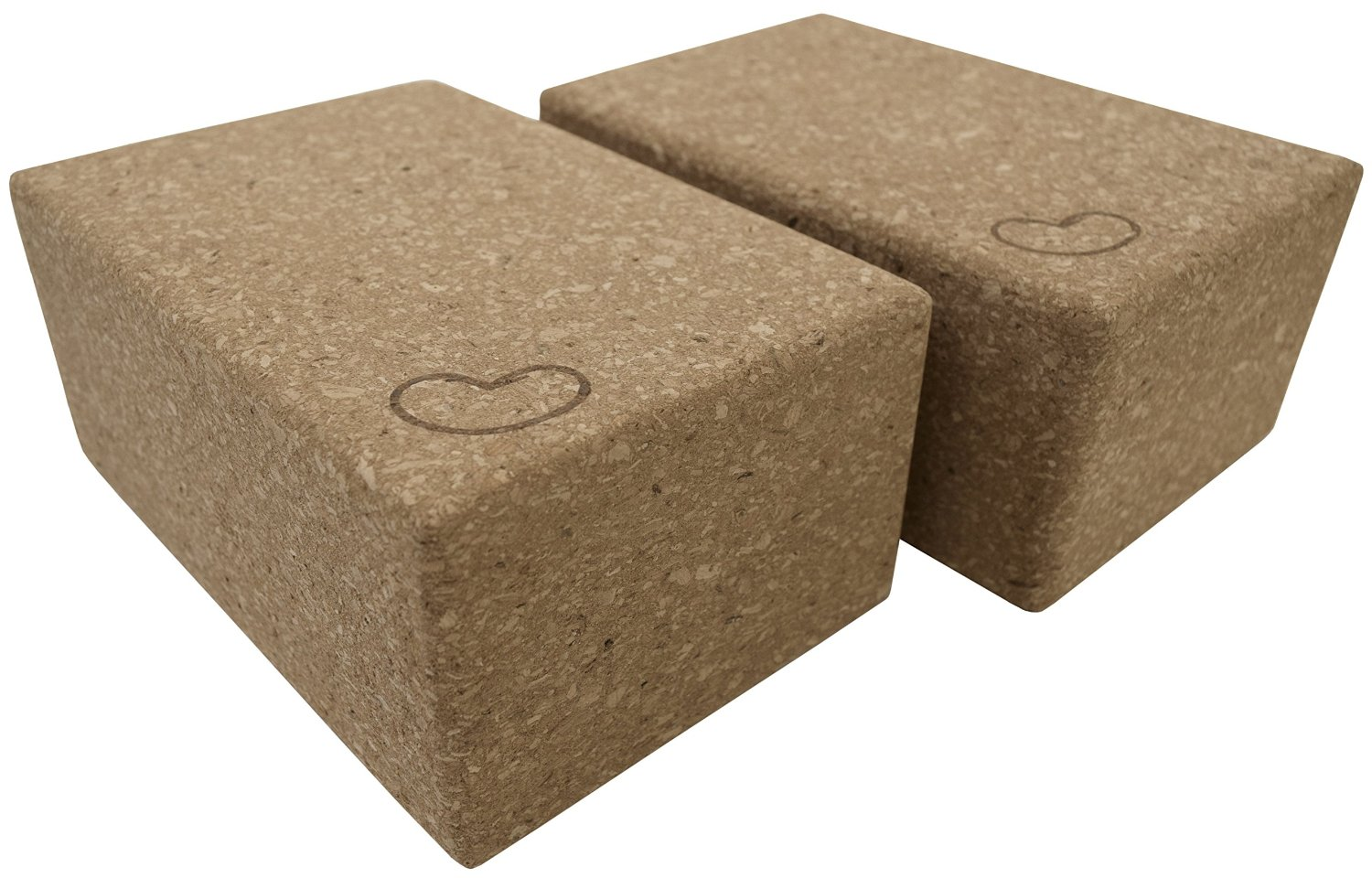 Cork Yoga Blocks block saver pack by Bean Products