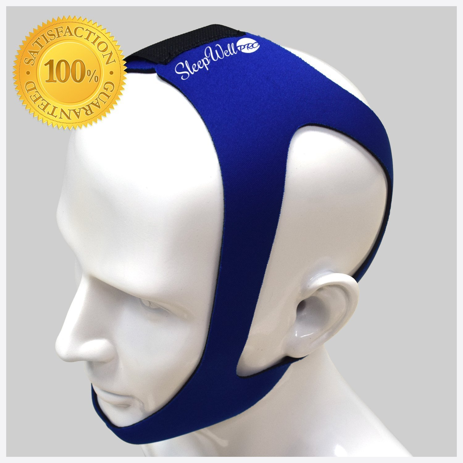 SleepWell Pro Adjustable Stop Snoring Chin Strap Medium