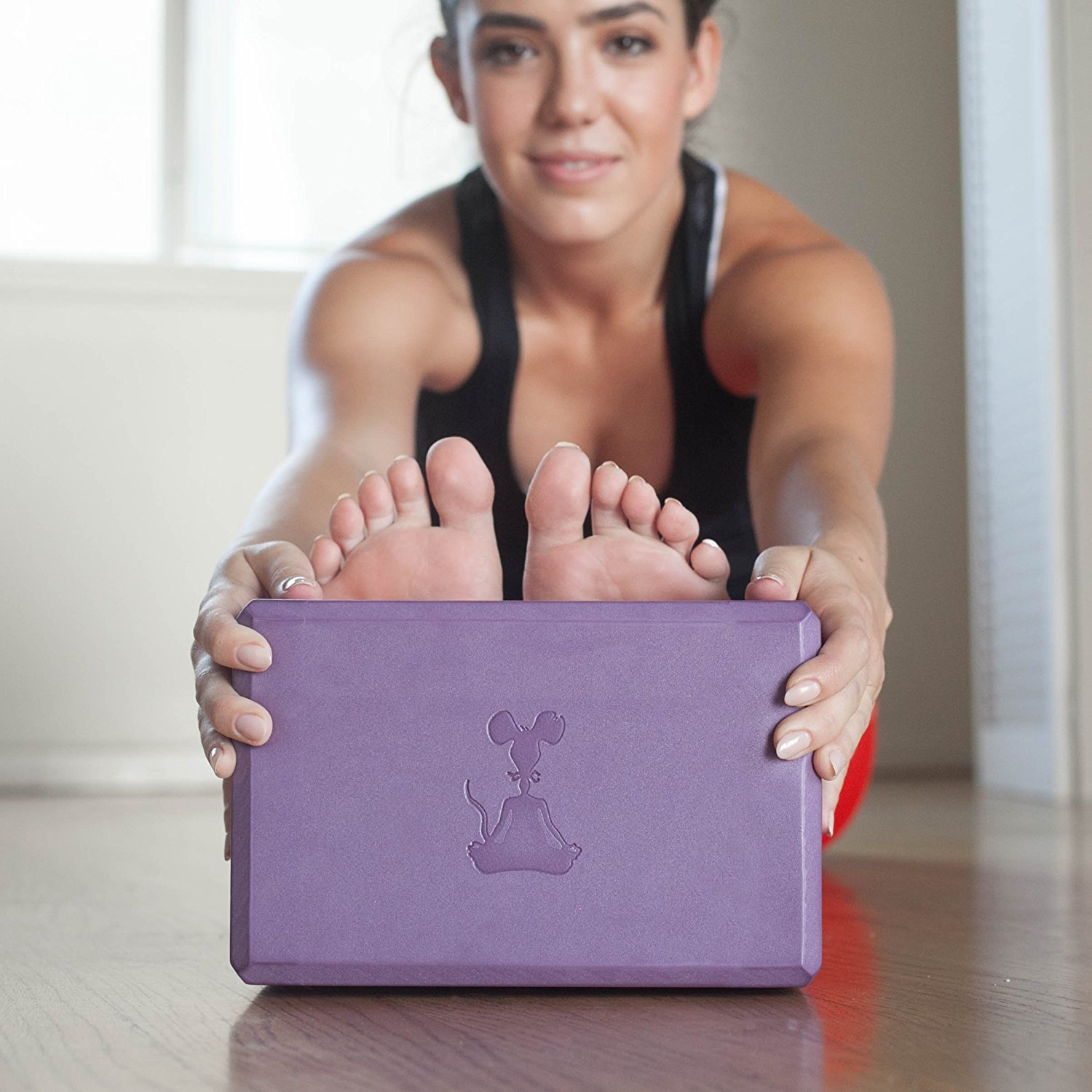 Yoga Block and Yoga Strap Set