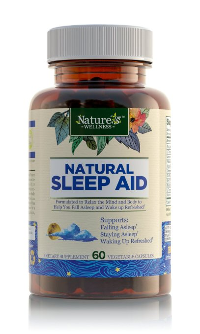 Natural Sleep Aid for Adults by Natures Wellness
