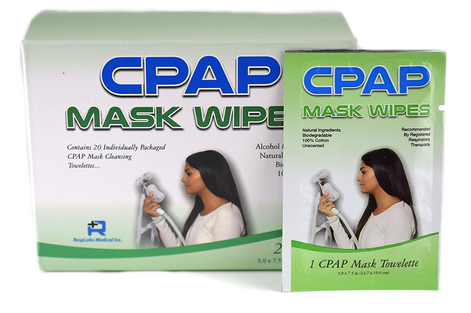 RespLabs Medical CPAP Wipes For Travel