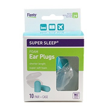 Super Sleep Comfort Foam Ear Plugs