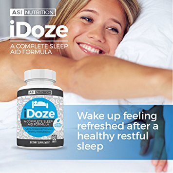 iDOZE Natural Adult Sleep Aid Supplement Formula