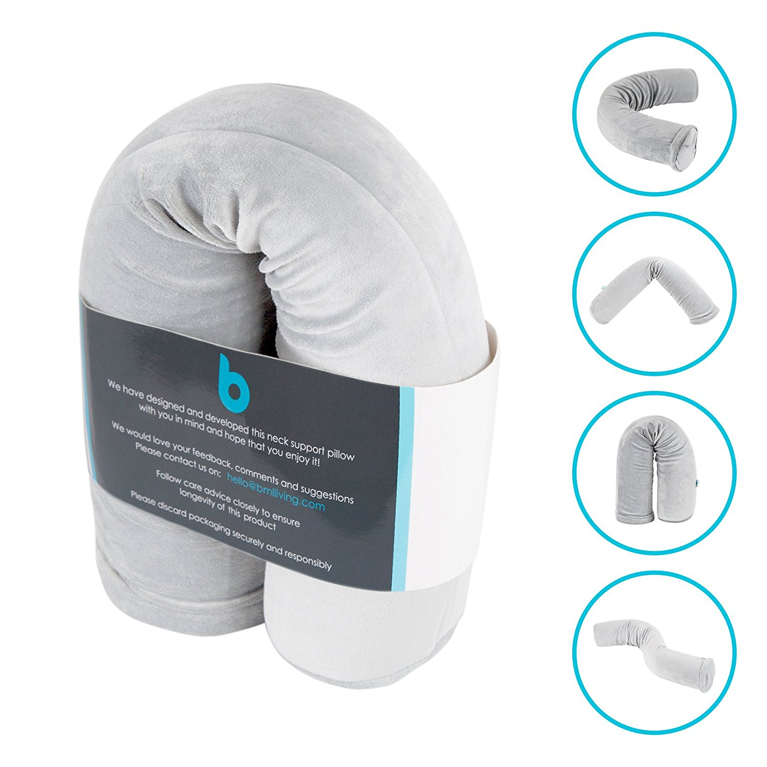 Magic Twist Neck Pillow, Lumbar Roll, Cervical Roll