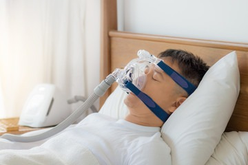 comfortable sleeping wearing a CPAP mask