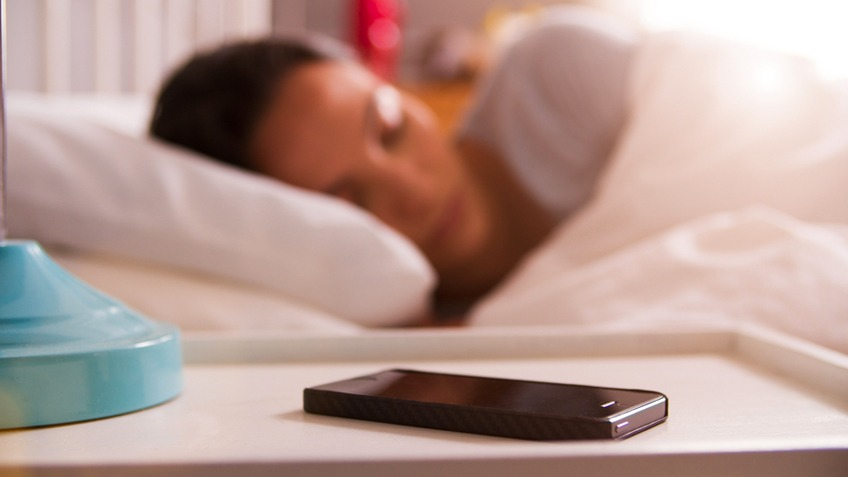 sleeping the phone away from bed